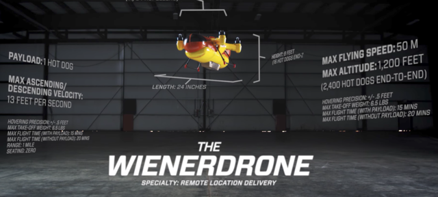 Oscar Mayer Adds Hot Dog Drone To Its Wienerfleet furthermore Oscar mayer adds the first hot dog delivering drone to its further  on oscar mayer adds dog drone to its wienerfleet