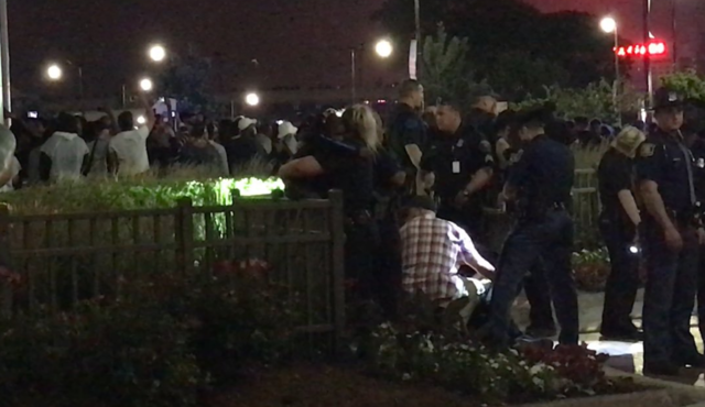 Woman shot near Hart Plaza at fireworks show