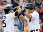 Cabrera, Martinez homer to lead Tigers over KC