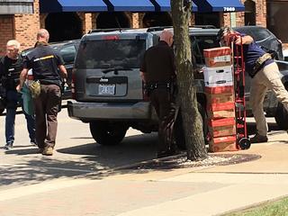 Computers, phones seized in Ralph Roberts raid