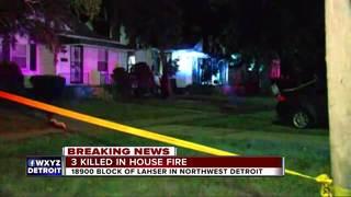 Grandma, twins killed in Detroit house fire