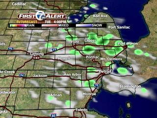 FORECAST: Cool with spotty showers... again