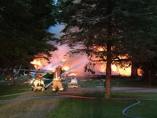 2 missing in Orion Township house explosion