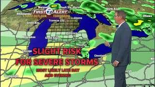 FORECAST: Storm chances tonight