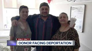 Man facing deportation is only donor for niece