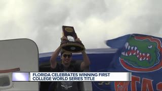 Gators return home after first CWS championship