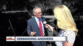 Demanding answers from probate official
