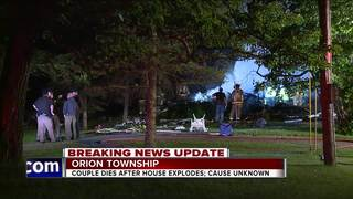 2 killed in Orion Township house explosion