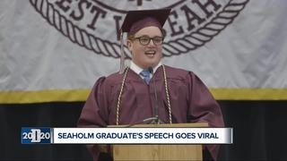 Seaholm grad with autism gives inspiring speech