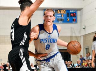 Ellenson scores 29; Pistons beat Hornets