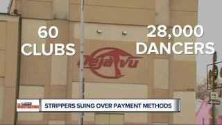 Detroit strippers suing strip clubs over tips