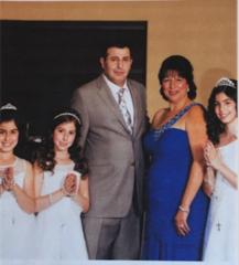Family: Saad Shinko taken on daughter's birthday
