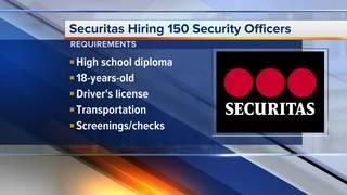 150 security officer jobs open in metro Detroit