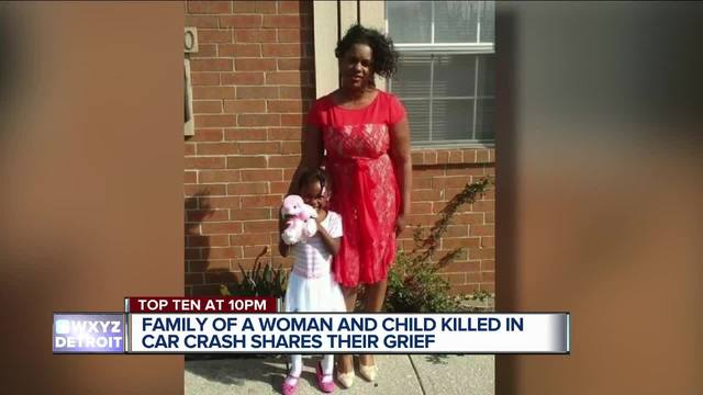 Metro Detroit woman child identified in deadly distracted driving crash
