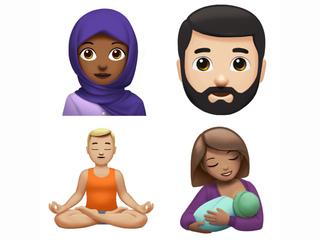 Apple' new emoji preview includes breastfeeding
