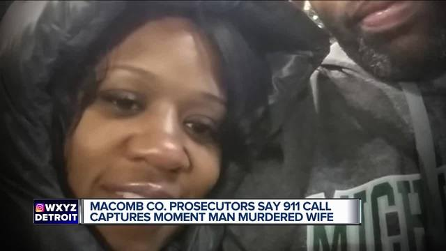 metro detroit man accused of killing wife during 911 call