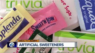 Dr. Nandi: Artificial sweeteners may cause harm