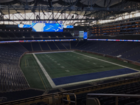 Lions remove playoff banners from Ford Field