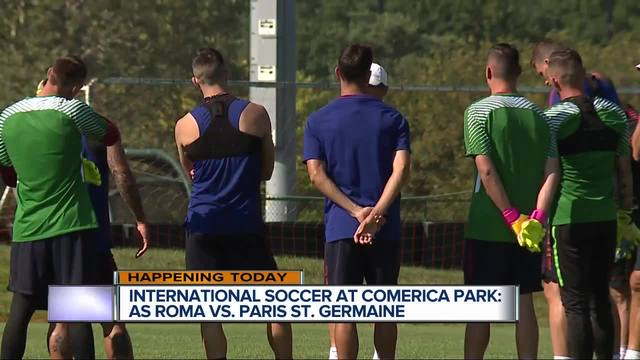 Paris St. Germain wins thriller in global friendly at Comerica