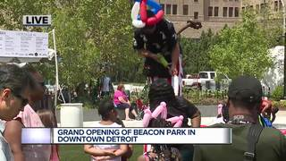 One-of-a-kind park set to open in Detroit