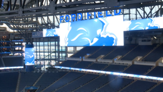 Photos: $100 million renovations at Ford Field