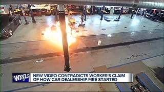 Video shows Buff Whelan fire igniting