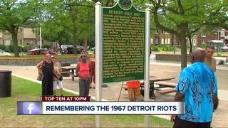 People gather to remember the Detroit riots