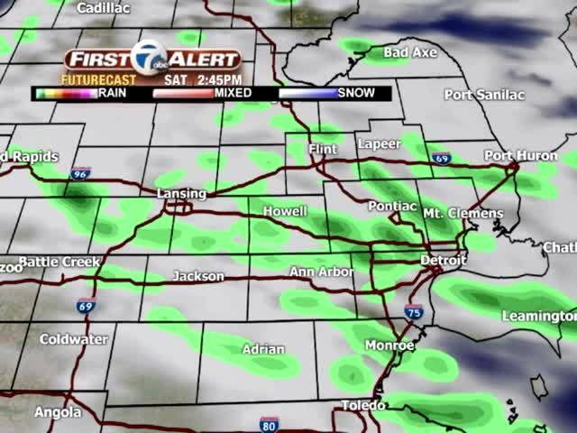 FORECAST: Wet start to the weekend