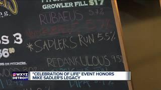 Mike Sadler's family holds