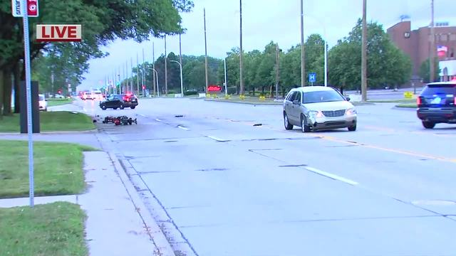 Person in wheelchair hit by vehicle in Madison Heights
