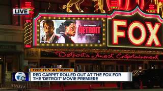 New movie Detroit premieres at Fox Theatre