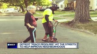 Peace Peddlers hit the streets with DPD