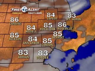 FORECAST: Warmer, muggy weather returns
