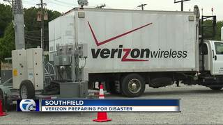 Exclusive look at Verizon's tools for disaster