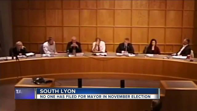 No one on the ballot for mayor in South Lyon as filing deadline passes