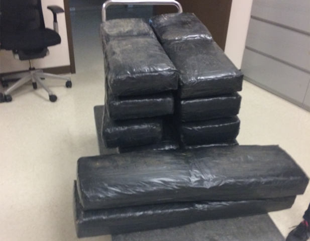 277 pounds of marijuana found in shipment of Ford vehicles