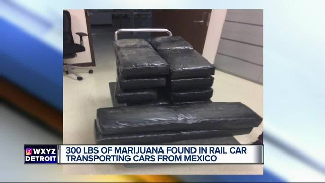More than -2 million in marijuana found in Detroit-bound Ford vehicles