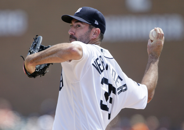 Astros have contacted Tigers about trading Justin Verlander, report says