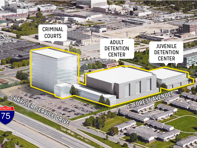 Proposed land swap the latest in Wayne County jail saga