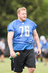 Lions guard TJ Lang finally takes the field