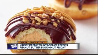 Krispy Kreme Reese's doughnut coming Friday