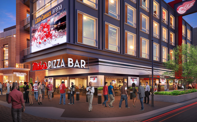 Pizza bar honoring Mike Ilitch to open at Little Caesars Arena