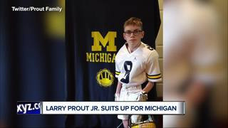 Youngest U of M player ready for football season