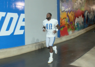 Lions' newcomers get chance to enjoy Ford Field
