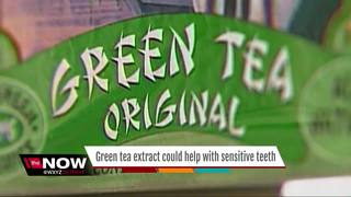 Could green tea extract treat sensitive teeth?