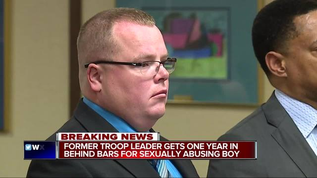 Former Scout leader gets 1 year on sex charges
