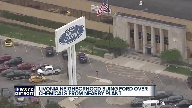 Livonia Residents Sue Ford Over Groundwater Contamination