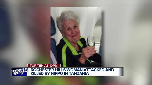 American tourist, 75, killed in hippo attack while on safari