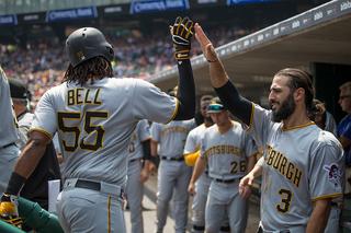Josh Bell, Gerrit Cole lead Pirates past Tigers