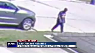 Dearborn Heights woman robbed in own home